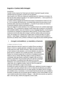 CON IMMAGINI - Augusto e il potere delle immagini - Zanker