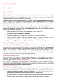 Riassunto Formazione - I metodi - Quaglino (CAP. 2-6-7-8-9-14-18-23-25-26-30-34-37-38)