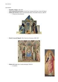 Esercitazione per riconoscimento opere Storia dell'Arte Moderna