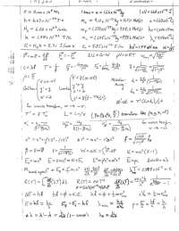 PHY 355 SP 2019 -Exam 1 equation sheet