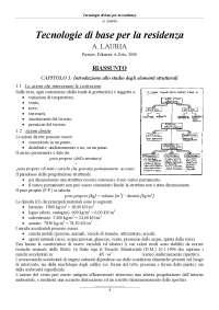 Tecnologie di base per la residenza, Antonio Lauria