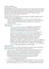 Diritto romano - Lezione ottava