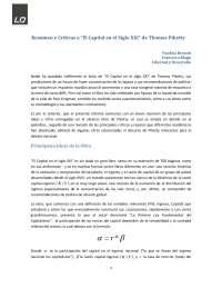 Analisis de Libro de Piketty