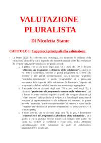 valutazione pluralista
