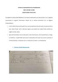 Elaborato 3 Base di dati Sistemi di elaborazione delle informazioni Unipegaso