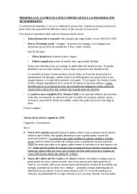 LEY DE LA PROYECCIÓN COMUNICATIVA