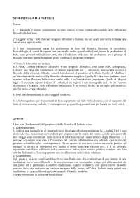 STORIA DELLA FILOSOFIA (1) (LM) - Prof. Francesco Cerrato (2018/2019)