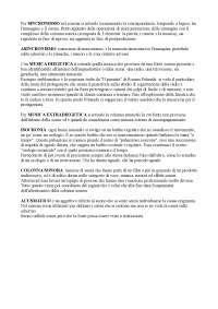 MUSICA DEL CINEMA - DEFINIZIONI