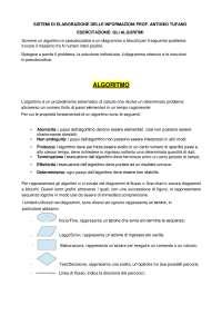 Elaborato 2 Algoritmi Sistemi di elaborazione delle informazioni Unipegaso