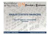 Temario Analisis de estados financieros