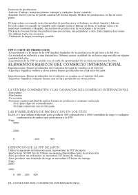 Resumen teorico de Microeconomia I UCM