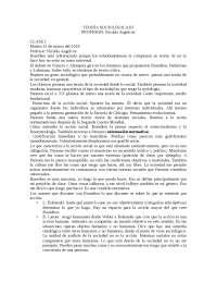 Apuntes teoría sociologica III