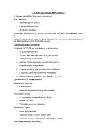 Tema 2. Adolescència