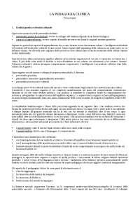 La psicologia clinica, Tresciuzzi