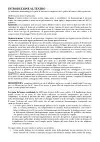 STORIA E TECNICA DELLA MESSINSCENA I