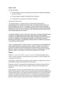 Resumo de Fundamentos das Ciências Sociais AV2