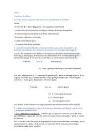Cuestiones genética tema 1
