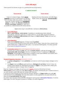 Appunti di Storia della lingua italiana 1 con prof. Cortelazzo - UNIPD