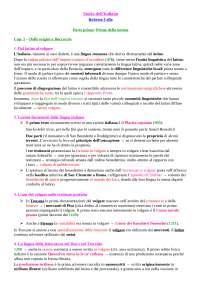 'Storia dell'italiano' di Roberta Cella - Riassunto