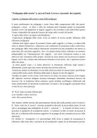 Pedagogia della storia a cura di Paolo Levrero