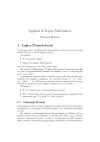 Appunti di logica matematica, livello avanzato