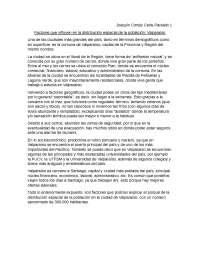 Descripción socio-geográfica de Valparaíso