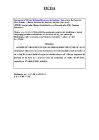 FICHA DEL DERECHO PENAL PARA EL ESTUDIA DE LA ESTRUCTURA DEL DOCUMENTO