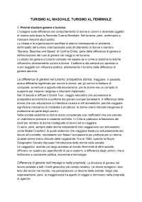 Turismo al maschile turismo al femminile, E. Dell'Agnese, E. Ruspini
