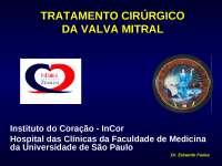 tratamentocirurgicodavalvamitral