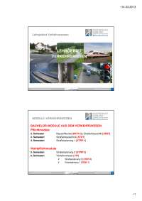 Progettazione stradale in Germania