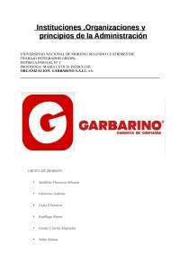 Garbarino S.A y sus sucursales