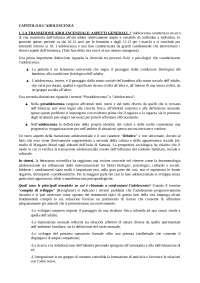 RIASSUNTO CAPITOLO 8 MANUALE DI PSICOLOGIA DELLO SVILUPPO