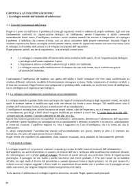 RIASSUNTO DEI CAPITOLI 4-5 DEL MANUALE DI PSICOLOGIA DELLO SVILUPPO