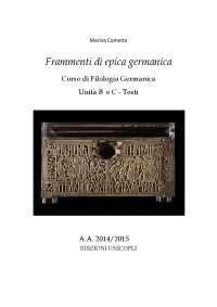 Testi di Frammenti di Epica Germanica