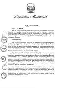 RESOLUCIÓN DE AGUA POTABLE