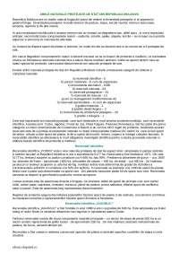 Классификация охраняемых территорий Молдовы