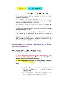 Histología del Tejido Óseo