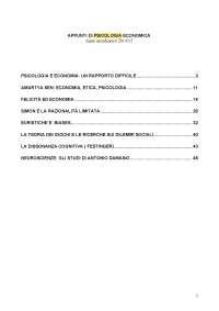 Psciologia economica