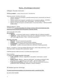 Nęcka - Psychologia twórczości