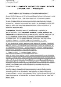 RESUMEN TEMA 1 INSTITUCIONES JURÍDICAS DE LA UE