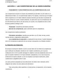 RESUMEN TEMA 3 INSTITUCIONES JURÍDICAS DE LA UE
