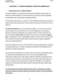 RESUMEN TEMA 2 INSTITUCIONES JURÍDICAS DE LA UE