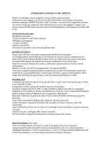 Riassunto libro:  M. Carrozzo - C. Cimagalli, Storia della musica occidentale, Roma, Armando, 2014, + appunti per esame di STORIA DELLA MUSICA II: '600-'700 (unibo)