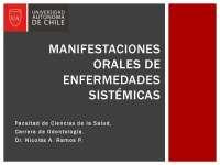 Manifestaciones orales de enfermedades sitemicas