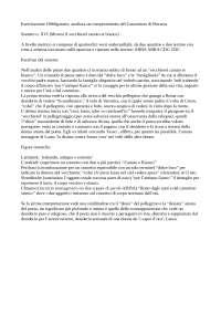 """Analisi XVI Sonetto """"Movesi il Vecchierel canuto et biancho"""""""