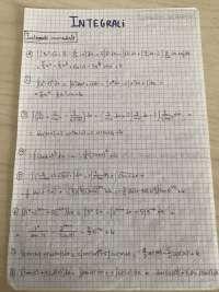 Analisi 1 esercizi risolti sugli integrali prof Giovanni Dore