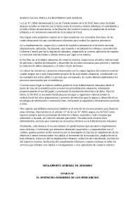 MARCO LEGAL PARA LAS REFORMAS ADUANERAS