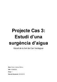 Projecte Cas3, TCI-II