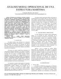 analisis modal operacional