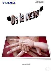 Progetto De la mano lingua Spagnola